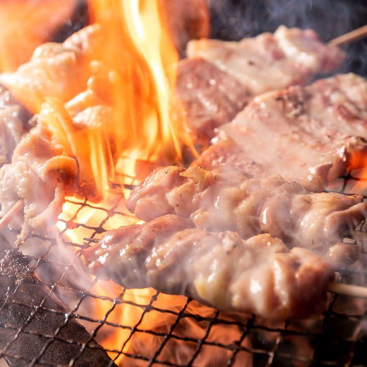 鳥取県産 大山地鶏の焼鳥(3本盛り)